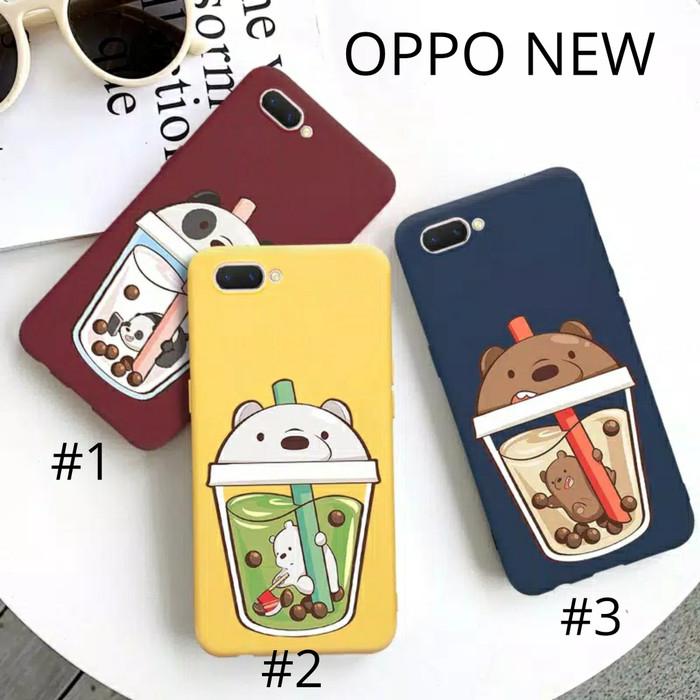 Foto Produk Case Softcase OPPO F9 / OPPO A7 Karakter Glosy Bear Bare Casing Kartun dari febrikormencellular