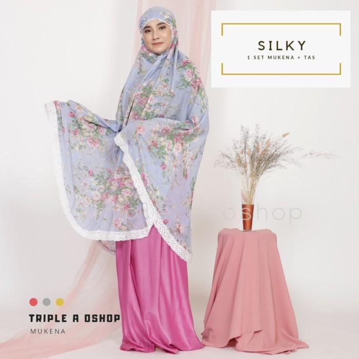 Foto Produk Mukena Silky Premium Cantik Elegan dari Triple-A oshop