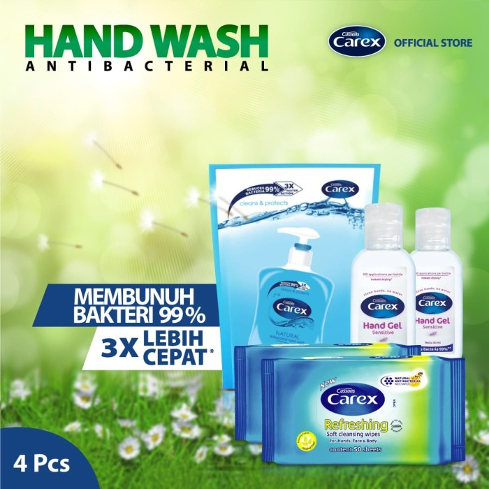 Foto Produk Carex All-In-One Fresh Pack 2 dari Cussons Official Store