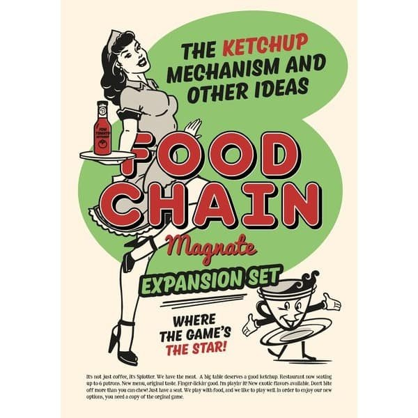 Jual Food Chain Magnate The Ketchup Mechanism Board Games Original Jakarta Utara Helovesus Tokopedia
