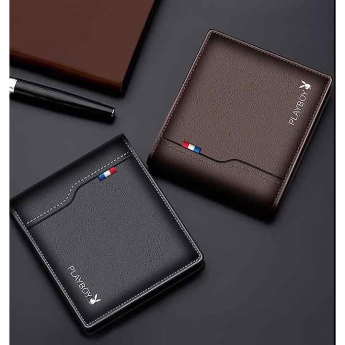 Foto Produk W48 Dompet Pria Pendek Play B Men Short Wallet - black dari EnnWen Online Store