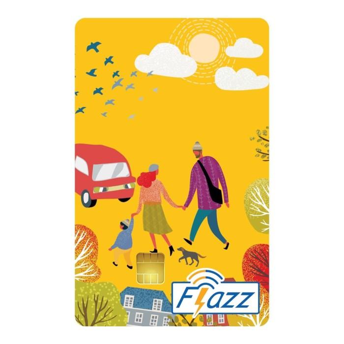 Foto Produk Kartu Flazz Reguler Kuning Berlogo Baru dari Flazz Official Shop