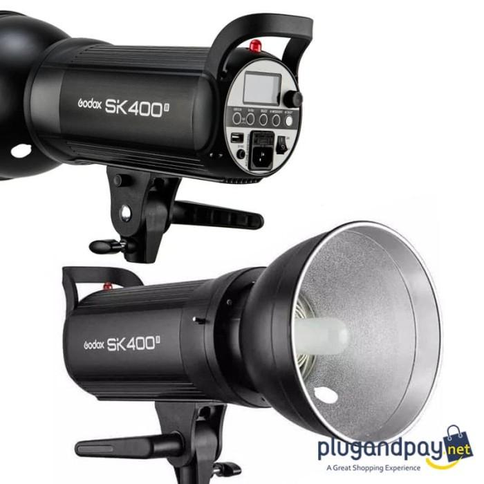 Foto Produk Lampu Studio Strobe Flash Godox SK400 mark 2 ii SK 400 dari plugandpay