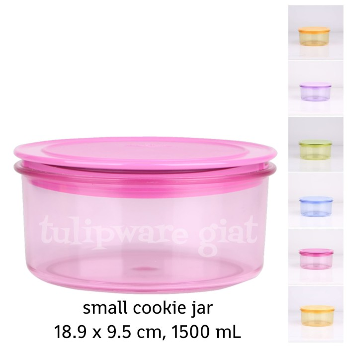 Foto Produk Toples Anti Pecah - Small Cookie Jar Tulipware dari TULIPWARE collection
