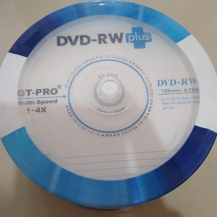 Foto Produk DVDRW GT-PRO DVD-RW Plus GT-pro 4.7GB DVD-RW GT-Pro dari PojokITcom Pusat IT Comp