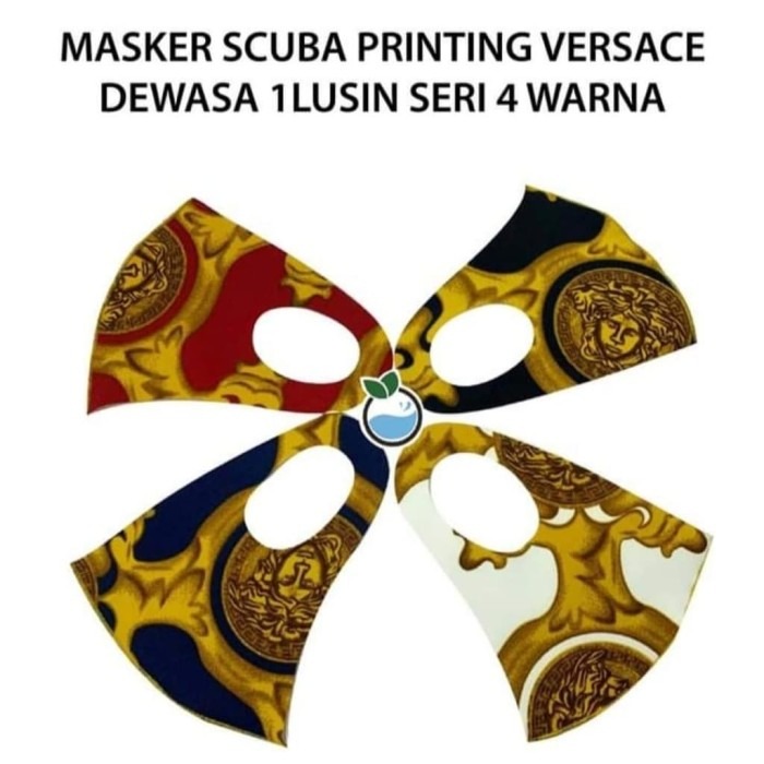Jual Masker Scuba Motif 1 Lusin 4 Warna - Jakarta Barat ...