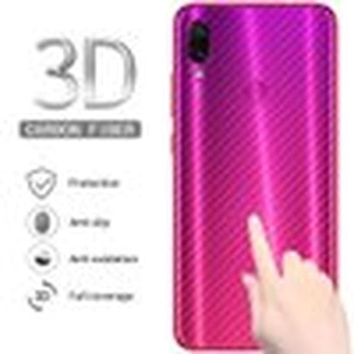 Foto Produk Redmi Note 7 Stiker Sticker Carbon Skin Anti Gores Belakang Xiaomi dari AP AKSESORIS HP