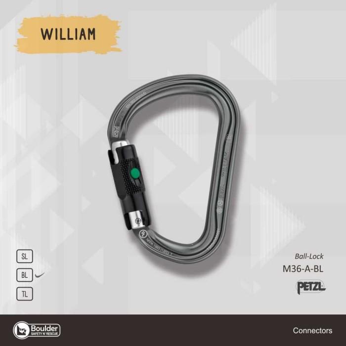 Jual Petzl William Ball Lock Carabiner Kota Cimahi Safety N Rescue Tokopedia