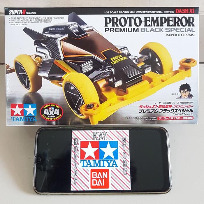 Foto Produk Tamiya Proto Emperor Premium Black Special dari Kay Hobby Store