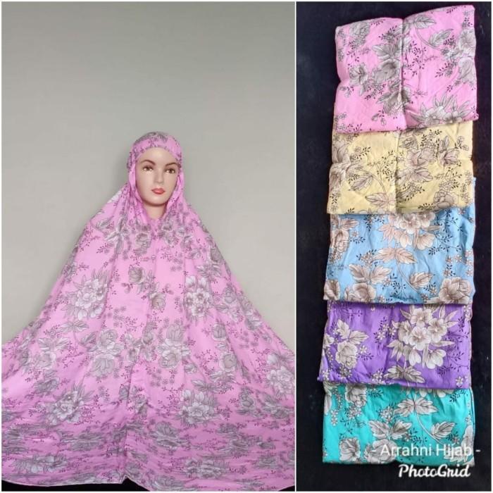Foto Produk Mukenah katun rayon premium motif cantik(adem.lembut) jumbo size dari Winnie Collection