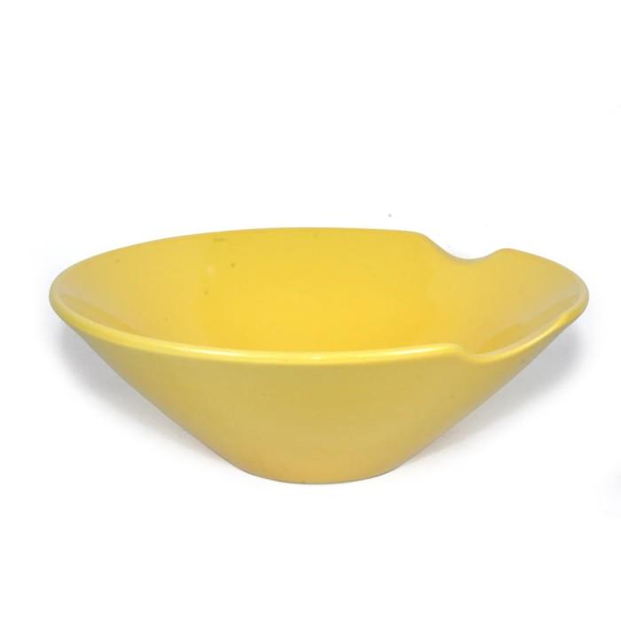 Foto Produk Artisan Ceramic | Yellow Glossy Bowl | Mangkok Keramik Handmade dari Artisan Ceramic