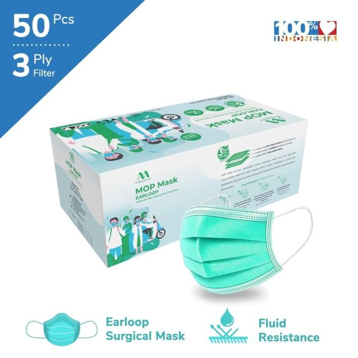 Foto Produk Multi One Plus - 3Ply Surgical Mask - Regular dari Pusat Bahan Kesehatan