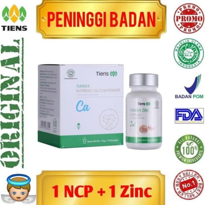 Foto Produk Paket Peninggi Badan Herbal 10 Hari /NHCP+Zinc/Tiens Alami Best Seller dari Herbal_Solution