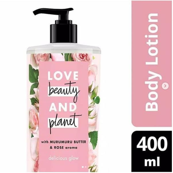 Foto Produk Love Beauty and Planet Pink Murumuru Butter Rose Body Lotion 400mL dari cherryblossomdps