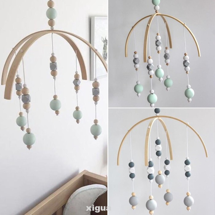 Jual Art Children Room Decoration Wall Hanging Wooden Beads Photography Jakarta Selatan Pinkposey Tokopedia