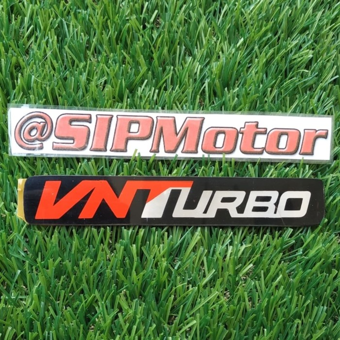 Foto Produk Emblem Logo Mobil Tulisan VNTurbo dari SIPMotor
