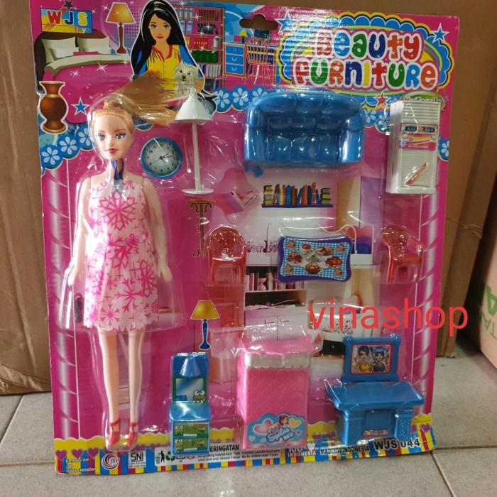 Jual Mainan Rumah Rumahan Barbie Beauty Furniture Perabotan Rumah Kota Cirebon Vina Shop Grosir Tokopedia