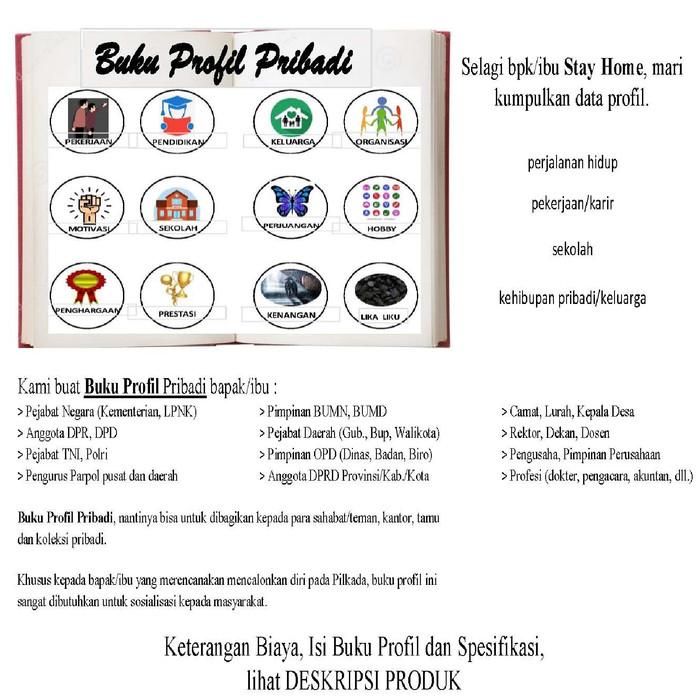 Jual Buat Terbitkan Buku Profil Pribadi Kota Tangerang Selatan Feryfi Tokopedia