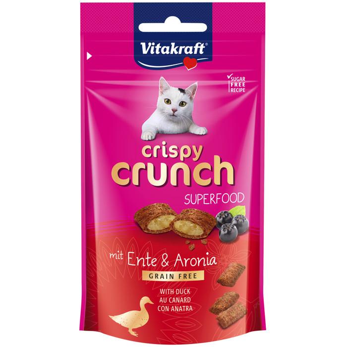 Foto Produk Vitakraft Crispy Crunch Duck Aronia Berries 60gr Superfood 39315 Cat dari Hime petshop