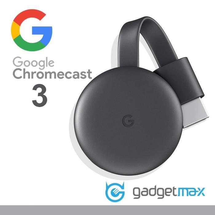 Foto Produk Google ChromeCast 3nd Generation Original Garansi Resmi - LATIN dari Gadgetmax.net
