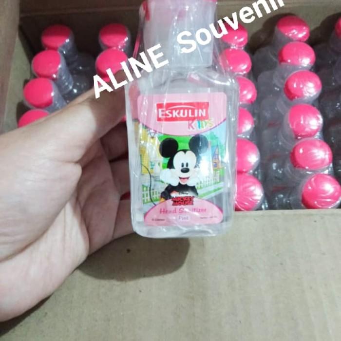 Foto Produk Hand Sanitizer 50ML Eskulin / Antiseptic - Merah Muda dari Aline Souvenir