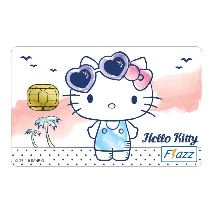 Foto Produk Kartu Flazz Limited Edition Hello Kitty Putih dari Flazz Official Shop