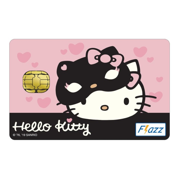 Foto Produk Kartu Flazz Limited Edition Hello Kitty Pink Gen 1 dari Flazz Official Shop
