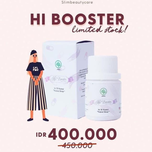 Jual Diskon Hari Ini Promo Pelangsing Hi Booster Slimbeautycare Terjamin Kota Depok Jujue Storeee Tokopedia
