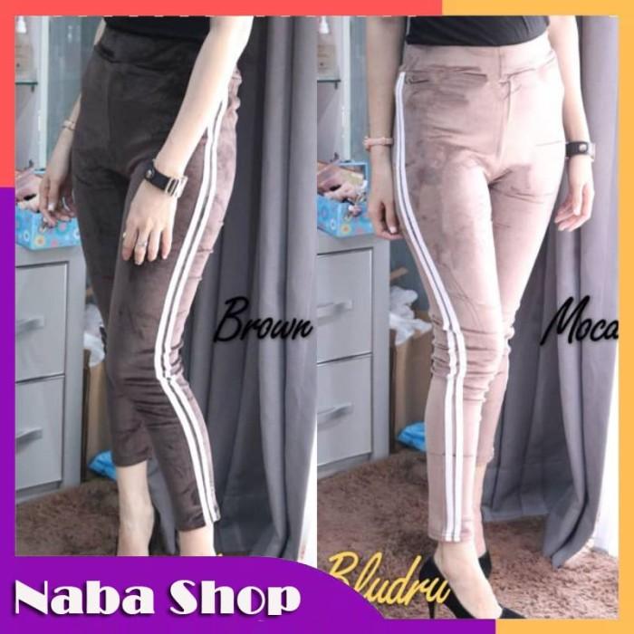 Jual New Celana Legging Bludru Jakarta Selatan Nabastore91 Tokopedia