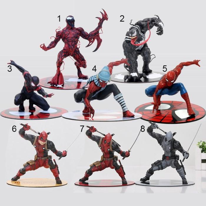 Jual Toys Deadpool Wade Wilson Artfx Civil War Venom Carnage Spider Man Jakarta Utara Angela123 Tokopedia