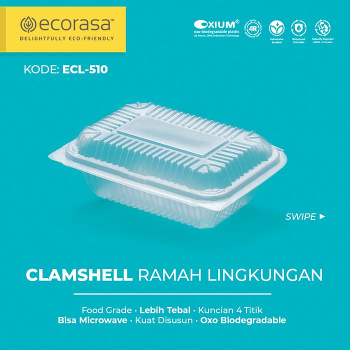 Foto Produk Clamshell Ramah Lingkungan ecorasa ECL-510 (Oxium) dari Ecorasa