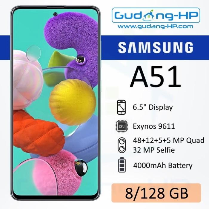 Foto Produk Samsung Galaxy A51 8/128 GB Garansi Resmi SEIN - Silver dari Gudang-HP
