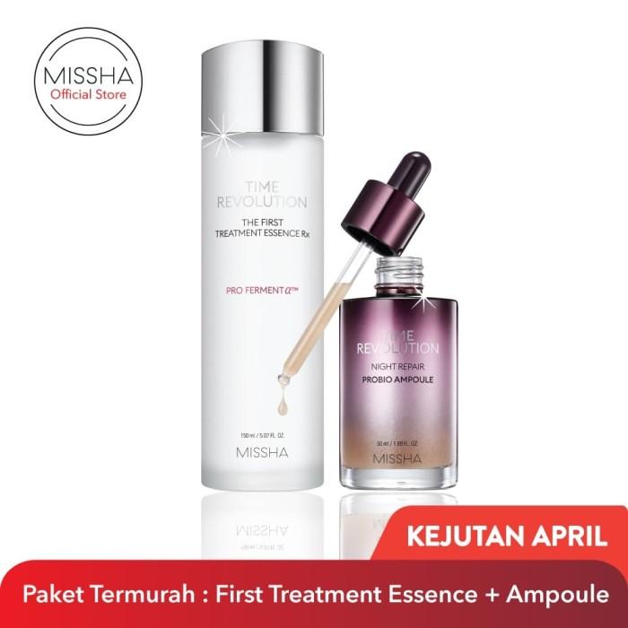 Foto Produk MISSHA Timeless Beauty : First Treatment Essence Rx (150ml) + Probio A dari Missha Indonesia