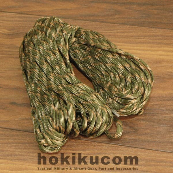 Foto Produk Tali Prusik Gunung Paracord Tactical Survival Adventure Outdoor Hiking dari Hokikucom