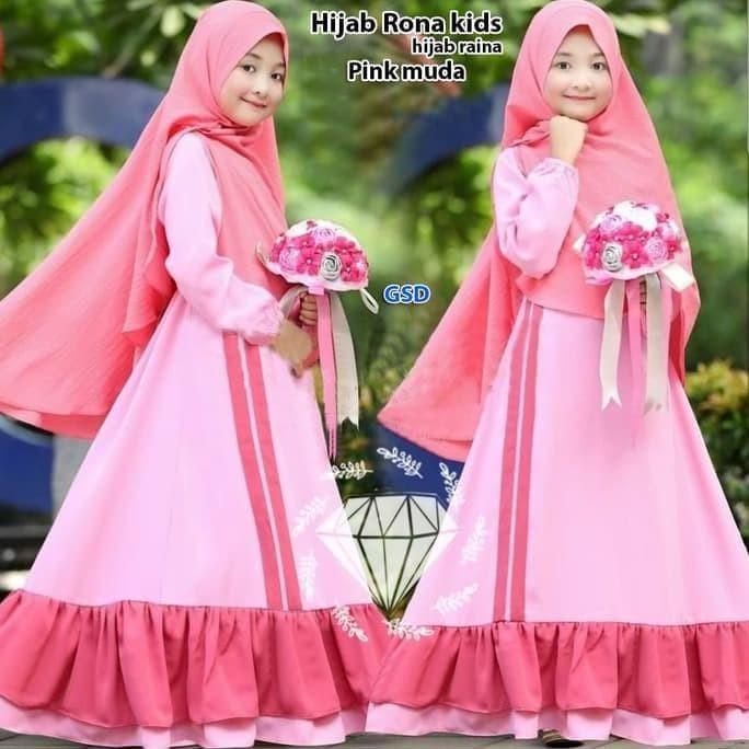 Jual Gamis Anak Perempuan Baju Gamis Anak Pakaian Muslim Anak Perampuan Kab Kebumen Whitemarket 06store Tokopedia