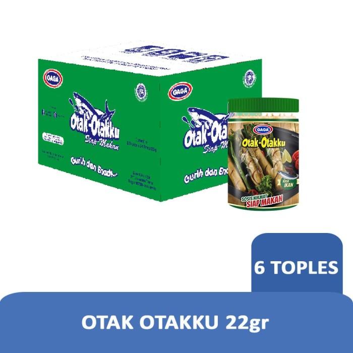 Foto Produk GAGA Otak Otakku 22g - 1 Karton (isi 6 Toples Harga Grosir) dari Gaga Official Store