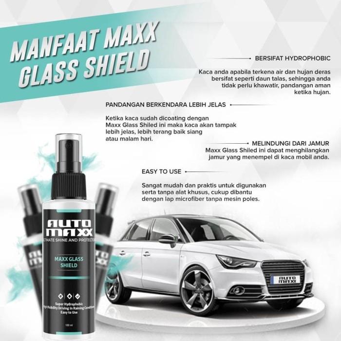 Jual Original Max Glass Shiled By Auto Max Coating Untuk Kaca Jakarta Barat Sinar Jauhari Tokopedia
