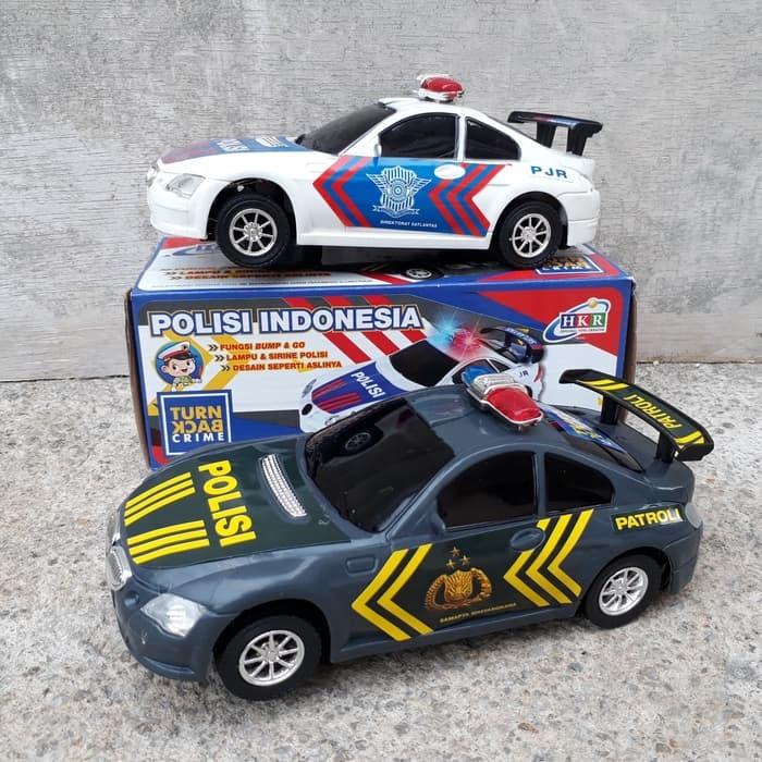 Foto Produk Mainan Mobil Polisi Bump Go Baterai Edukatif Police Car Anak Edukasi dari ZhafiraCorps
