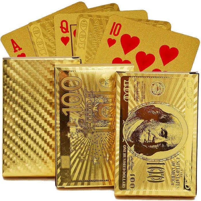 Jual Kartu Poker Emas 24k Bahan Plastik Sdu T Kab Bogor Ever Lasting Tokopedia