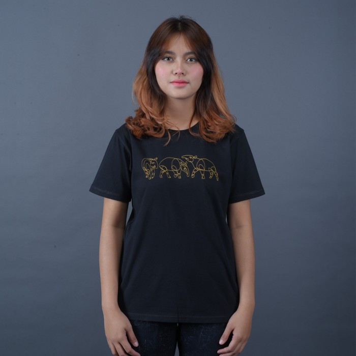 Foto Produk Kaos DGD Indonesia - Tapir Sumatra - XXXL dari DGD INDONESIA