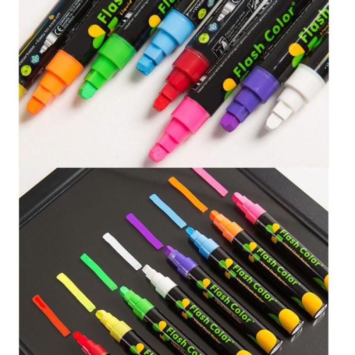 Jual 1pcs Cute Candy Highlighter Fluorescent Liquid Chalk Marker Neon Pen Jakarta Selatan Henestia Tokopedia