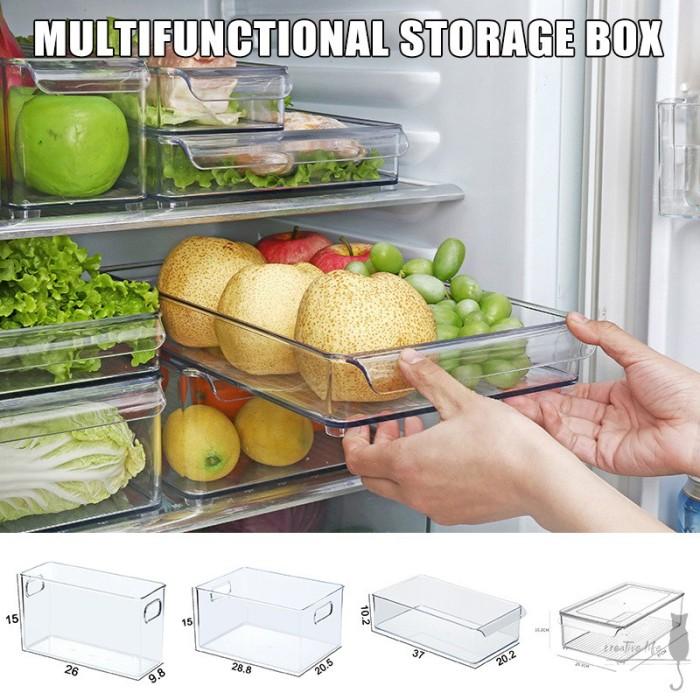 Jual Plastic Kitchen Pantry Cabinet Refrigerator Freezer Food Storage Jakarta Barat Perie Tokopedia