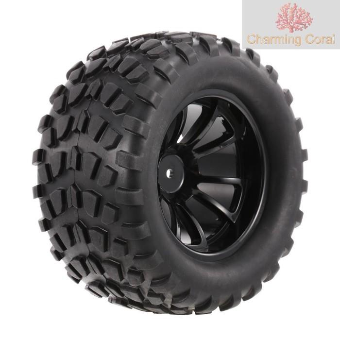 Foto Produk 【*STOCK】4PCS 1/10 Tyre Nail Block Tread Pattern 10 Spokes Rim dari Ever Lasting