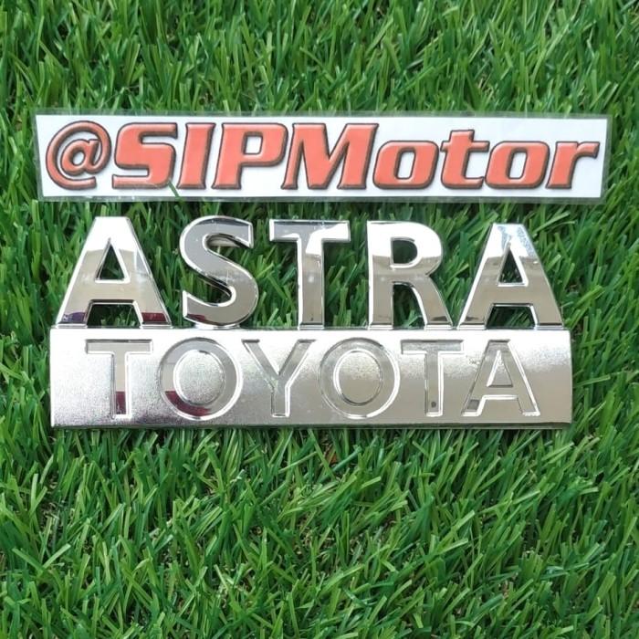 Foto Produk Emblem Logo Mobil Tulisan Astra Toyota Calya Agya dari SIPMotor