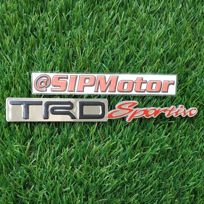 Foto Produk Emblem Logo Mobil TRD Sportivo Chrome dari SIPMotor
