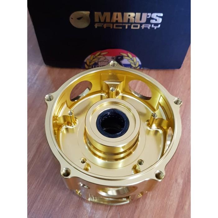 Foto Produk Marus Front Hub Vespa Sprint Gold (CNC) dari Gaya Motor Baru