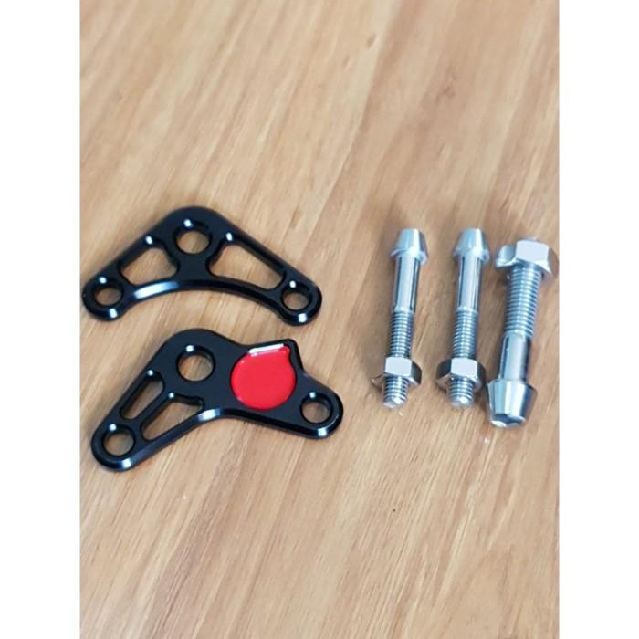 Foto Produk Marus Rear Shock Adaptor Black Vespa Sprint & Primavera dari Gaya Motor Baru