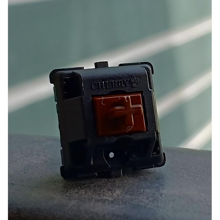 Foto Produk Cherry MX Brown Switch Tactile - Plate Mounted dari VortexSeries