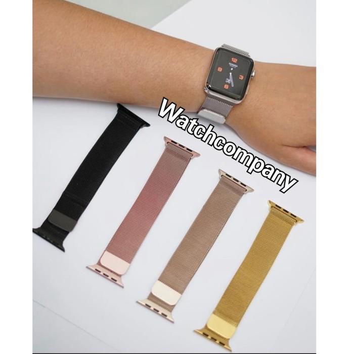 Foto Produk Strap Apple Watch / Strap iWatch / Strap IWO 42mm & 38mm Milanese Silv - Perak dari Watch Company