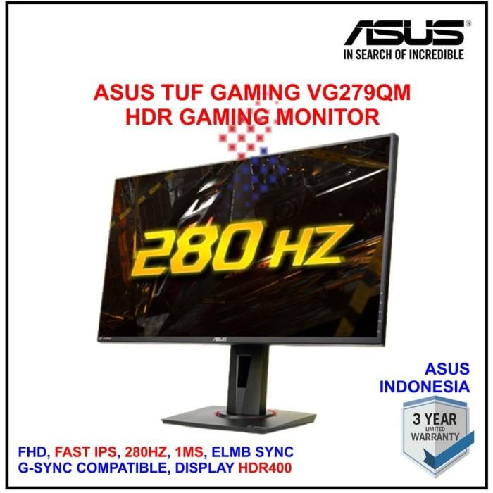 Foto Produk ASUS TUF GAMING VG279QM FHD IPS 280Hz 1ms ELMB HDR400 GSYNC Compatible dari silicon ONE Computer